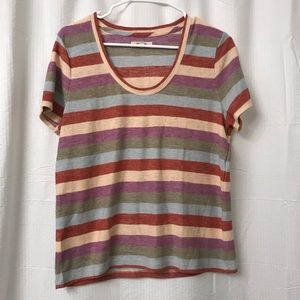 Madewell multicolored shirt